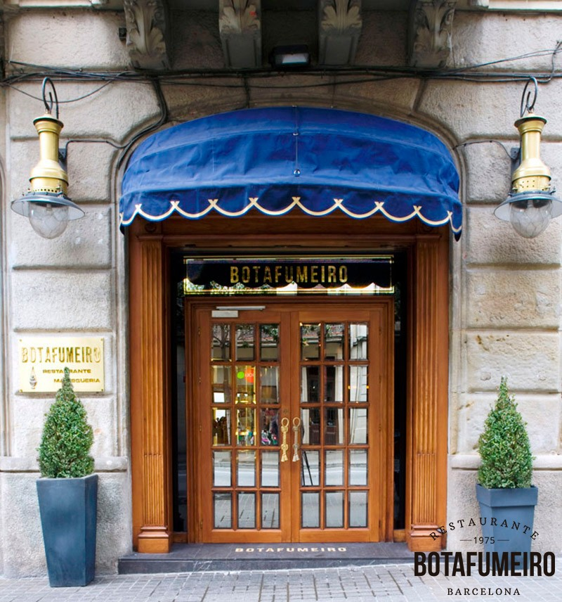 Botafumeiro Restaurant Door