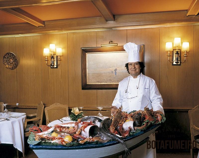 Moncho Neira Chef of Botafumeiro