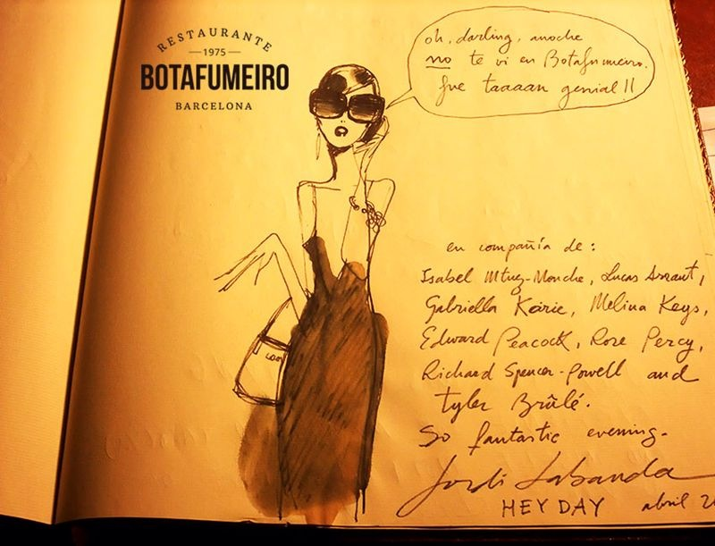 Botafumeiro Guestbook · Jordi Labanda